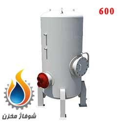 منبع کویل دار عمودی 600 لیتر